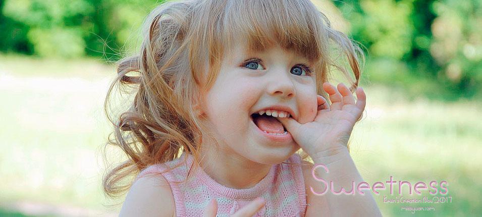 2017最新注册送白菜网调出偏暗色儿童照片甜美效果