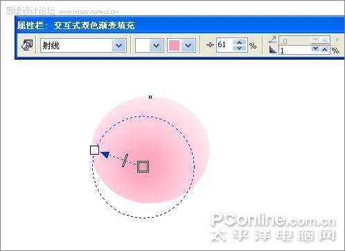 coreldraw绘制奥运福娃晶晶(3)