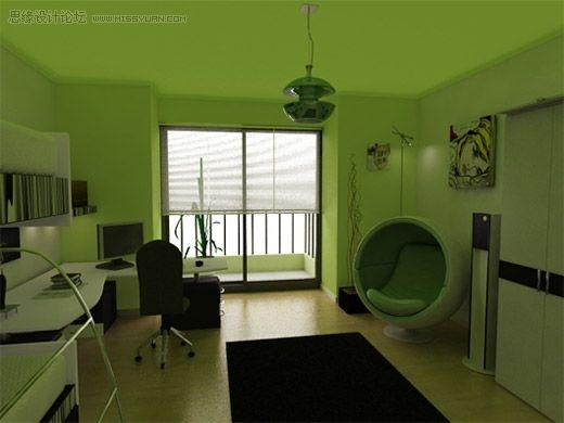 40张室内装修效果图欣赏,ps教程,思缘教程网