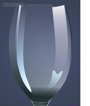 coreldraw x4鼠绘教程:绘制一只逼真的玻璃杯(3)