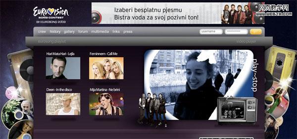个人音乐网站界面该如何设计?(4)