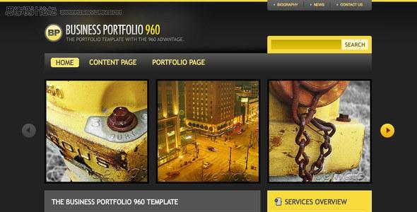 國外網站模板設計大賽十佳作品