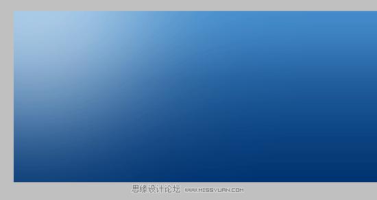 复制背景图层,并添加渐变叠加,颜色:暗蓝(#003471)  在底部.