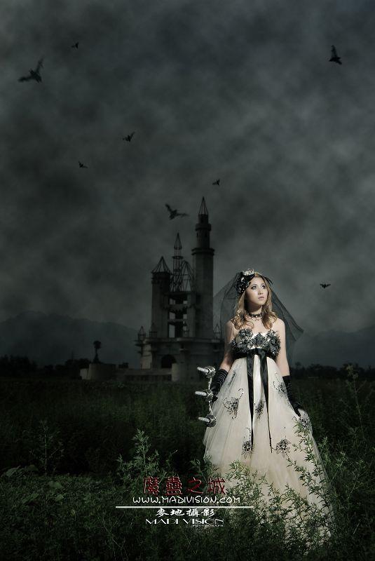 攝影後期作品:魔蠱之城