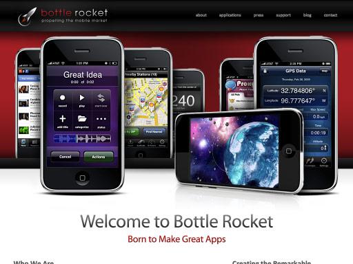 iPhone风格的网站界面设计欣赏,PS教程,思缘教程网