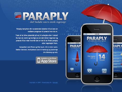使用iphone主题的网站界面设计欣赏