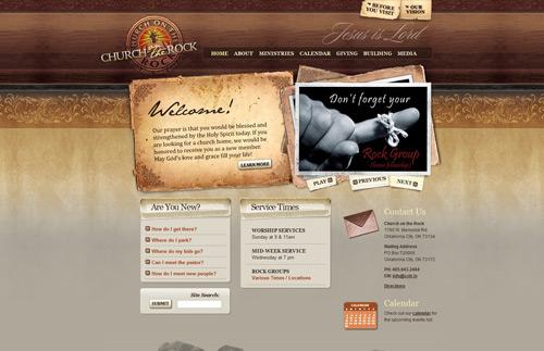 30款木質紋理網站設計欣賞