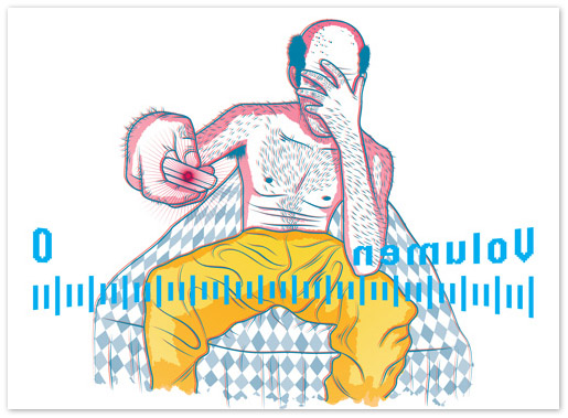 哥倫比亞設計師插畫設計欣賞