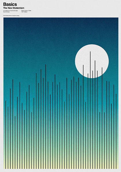20款簡潔漂亮的海報設計欣賞