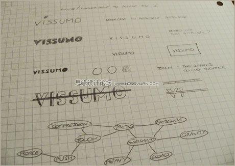 设计技巧:VISSUMO的Logo设计过程,PS教程,思缘教程网