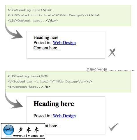 CSS技巧教學:清除多餘的標籤讓代碼更加有意義
