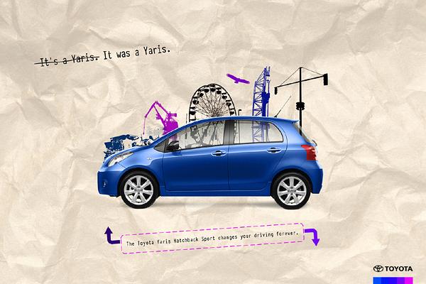 精彩的汽车广告创意设计欣赏,本作品一共精选了30张国外的