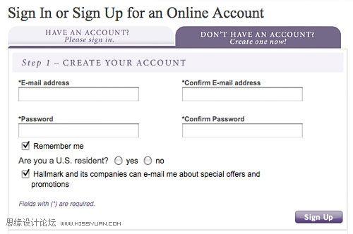 電子商務網站是否該用TAB欄設計?