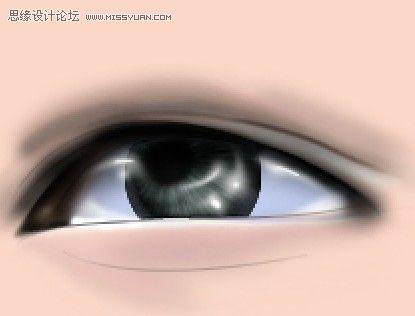 帅哥流泪的眼睛