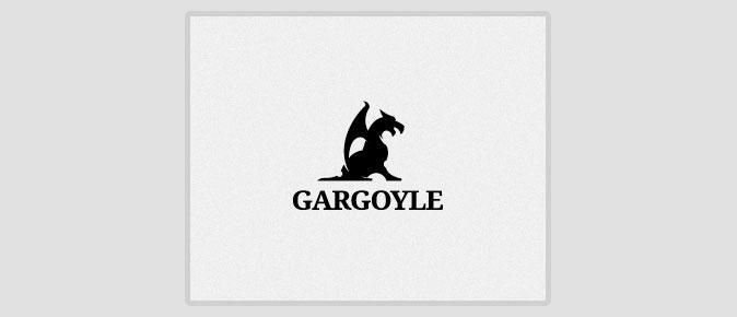 黑白logo素材