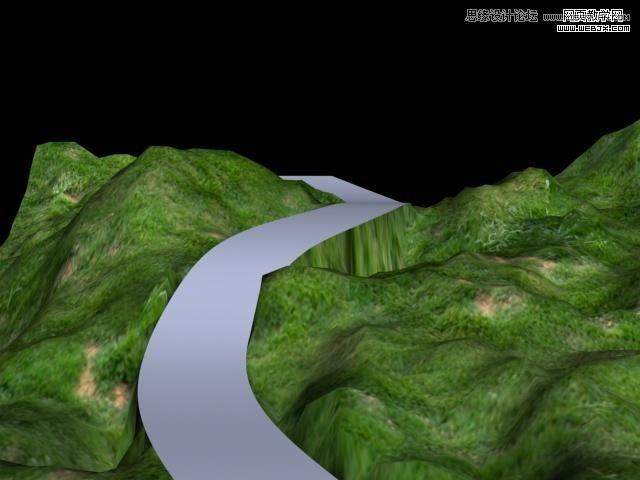 3dsmax山路教程:等高线v山路实例-3dmax专区酸辣土豆丝何时放醋法图片