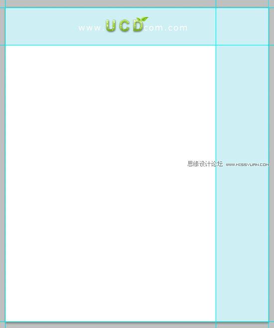 先看下效果吧 :)  第1步:新建文件(ctrl+N),全选(ctrl+A)填充#e3f2f6色;取消选择(ctrl+D)  第2步:设置参考线;编辑>首选项>常规>网格(ctrl+K)  第3步:激活网格(ctrl+),按F8打开窗口>信息,选择圆角矩形工具(U)设置半径为10px,圆角矩形宽度为960px;隐藏网格(ctrl+)  第4步:选择标尺(ctrl+R)  第5步:找张喜欢的风景;使用移动工具(V)移动到适合的位置,并转换为智能对象(右键单击图层,选择转换为智