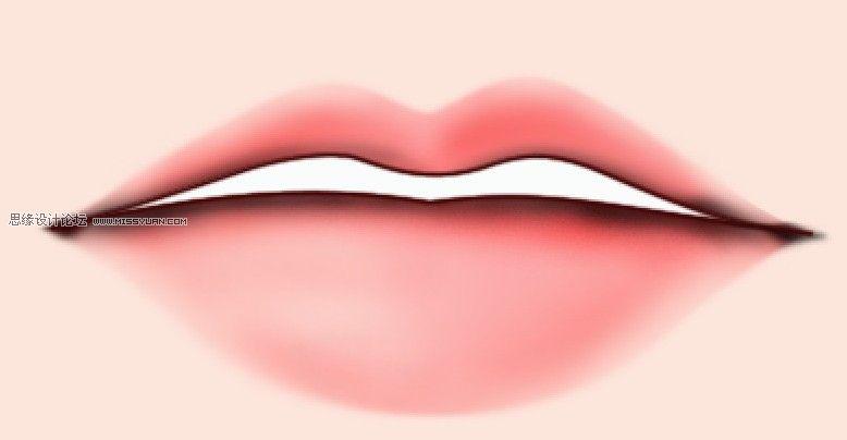 PS教學-鼠繪性感ㄠ嘴唇詳細實作課程教學
