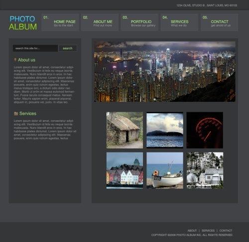 30个简单易学的photoshop网页布局设计教程