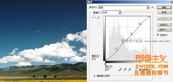 Photoshop技巧教程:曲線的深入了解