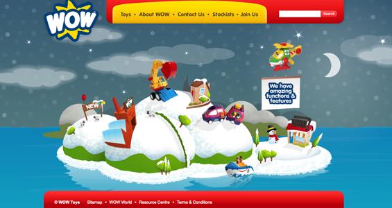 布局很创意的网站界面设计欣赏