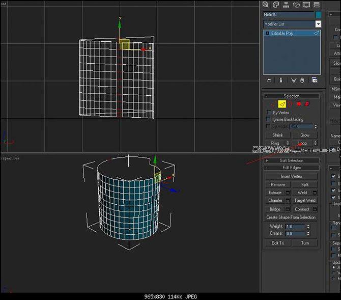 3D MAX建模教程:簡單打造實用螺紋模型