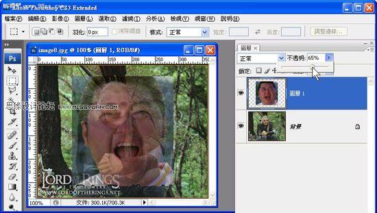 photoshop移花接木合成给人物换脸教程