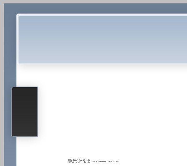 photoshop制作简洁优雅的wordpress模板