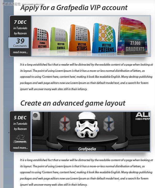 使用横向排版工具,在wordpress主题中添加文字内容.