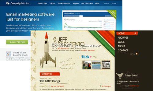 商务web应用程序的界面设计