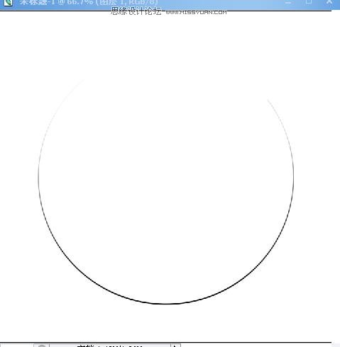 ps圆形头像教程图解