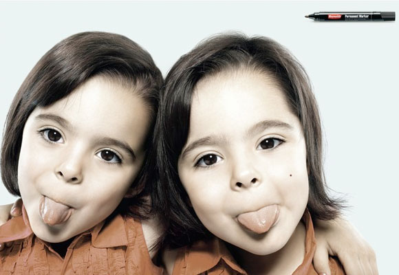 国外可爱的儿童创意广告欣赏