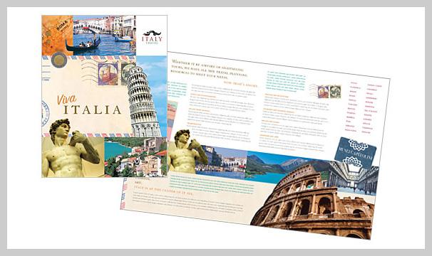 18張旅遊宣傳手冊設計欣賞