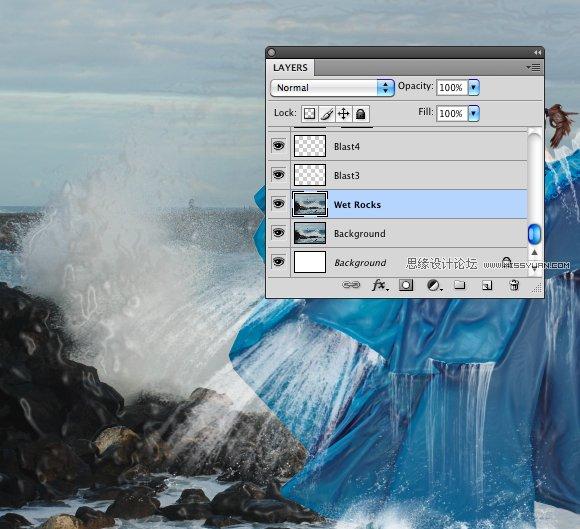 Photoshop合成在空中操控暴風雨的惡魔