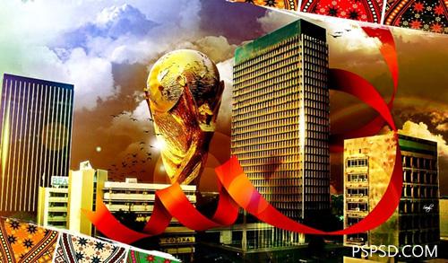 2010年世界杯广告海报设计欣赏