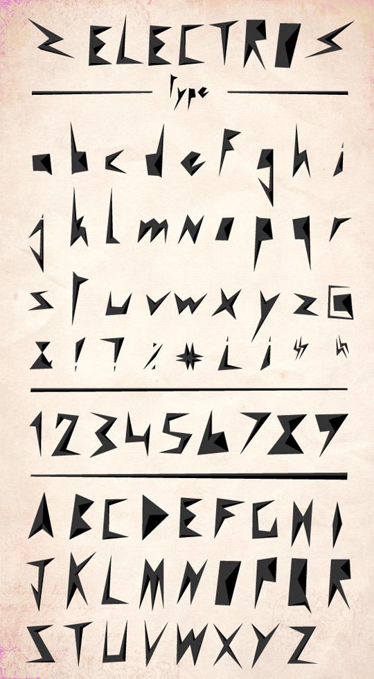 90款漂亮的文字排版海报设计