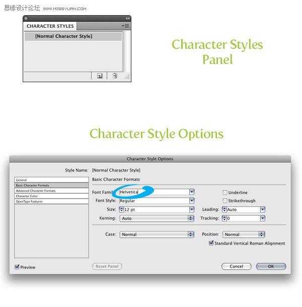 Illustrator為新文件改變默認字體