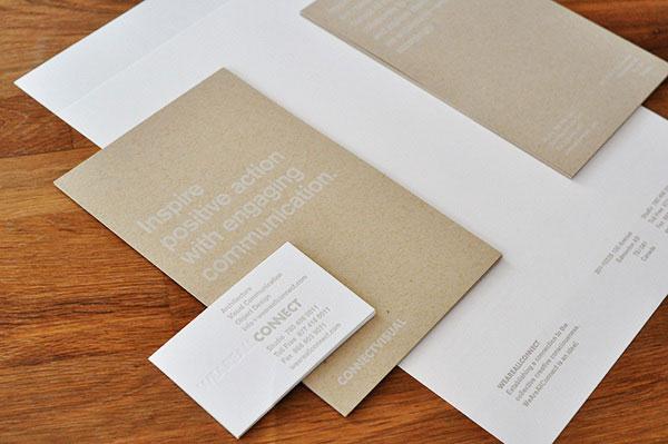 40个创意名片和信纸包装设计(5)