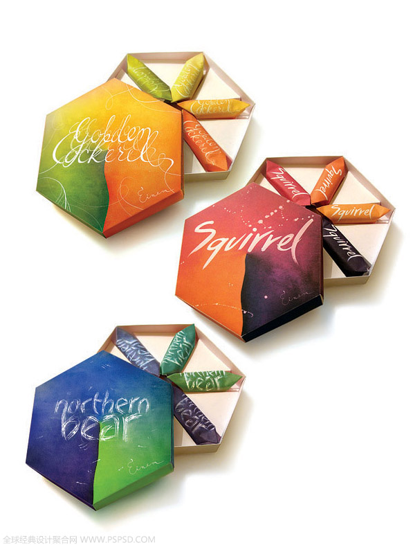 38个清爽的糖果包装设计欣赏图片