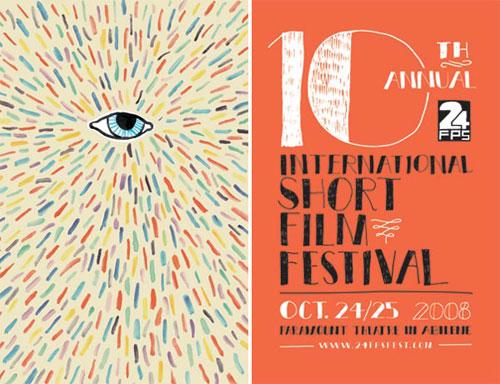 精彩创意的电影节海报设计