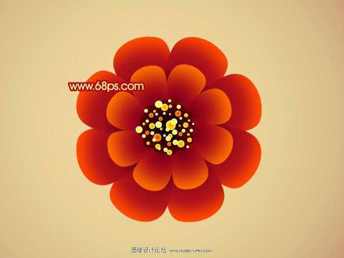 花朵步骤图画大全