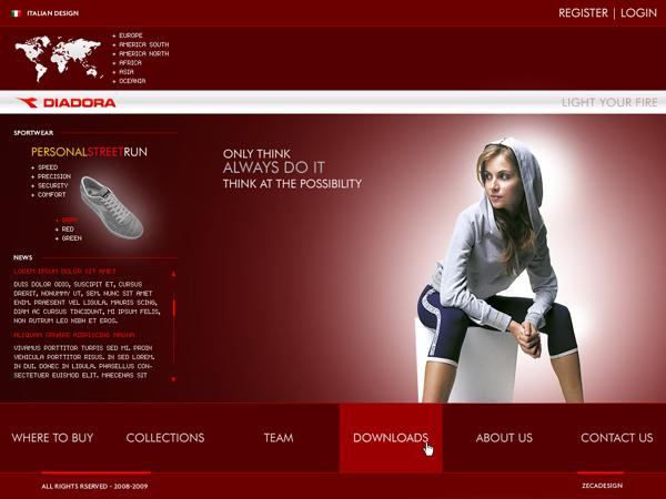 本组作品精选40张风格清爽的网站设计欣赏,这组网页设计有各种行业的图片
