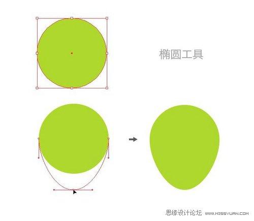 Illustrator繪製超喜感小章魚教學