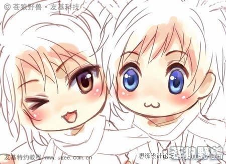 photoshop结合pt鼠绘漂亮的新年插画(2)