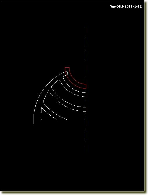 AutoCAD中式建築模型燭台的畫法