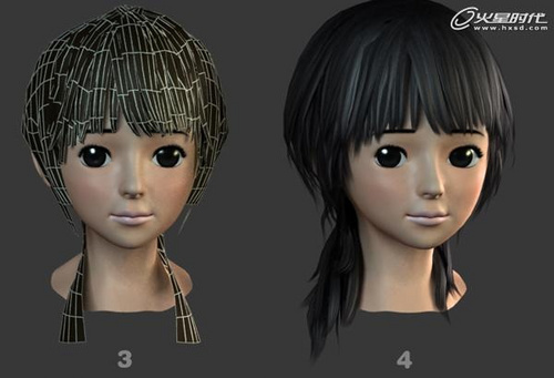 3dmax实例教程:末日女神人物角色制作流程