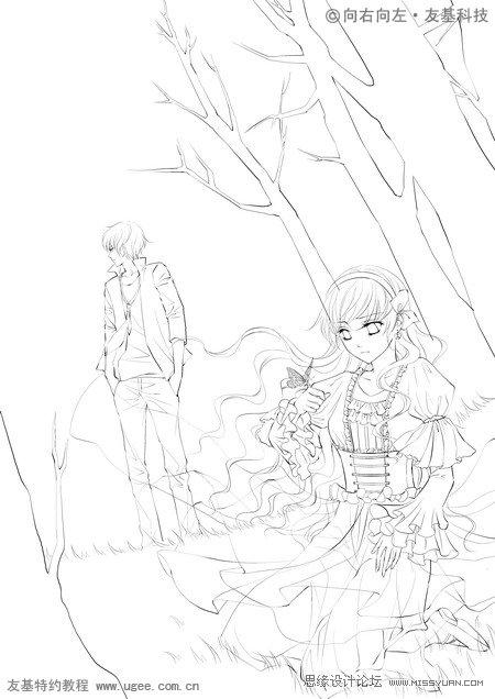 森林中的王子与公主