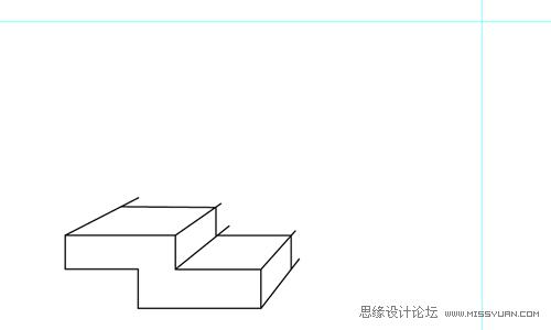 使用Illustrator繪製透視圖教學