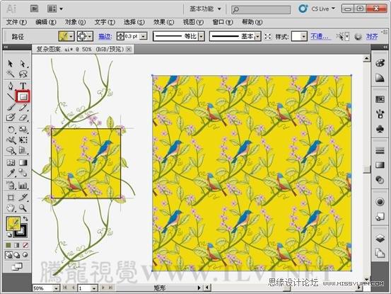 Illustrator基礎教學:製作複雜無縫貼圖
