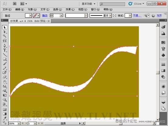 Illustrator基礎教學:實例解析封套扭曲命令的使用
